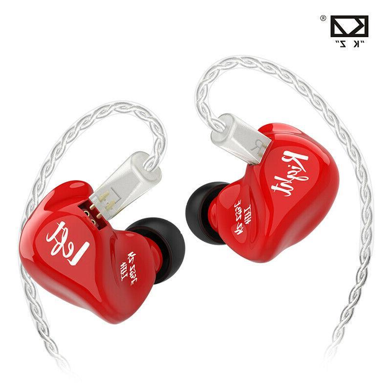 KZ ZS3E Dynamic Drive Noise Cancelling In Ear Earphone No Mi
