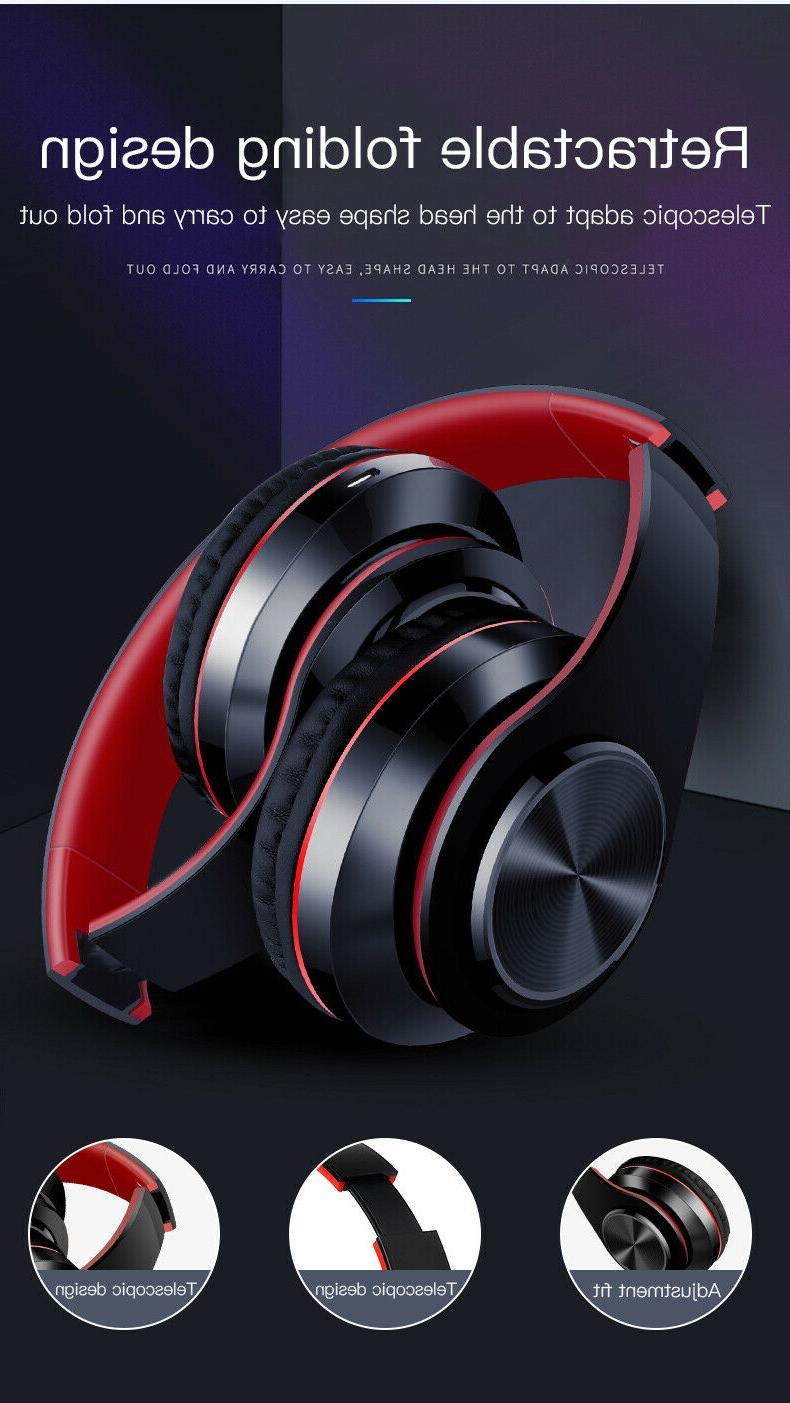 Super Wireless Headphones Headsets Mic