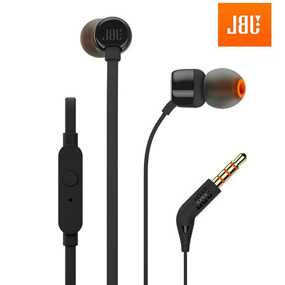 t110 3 5mm wired earphone fone de