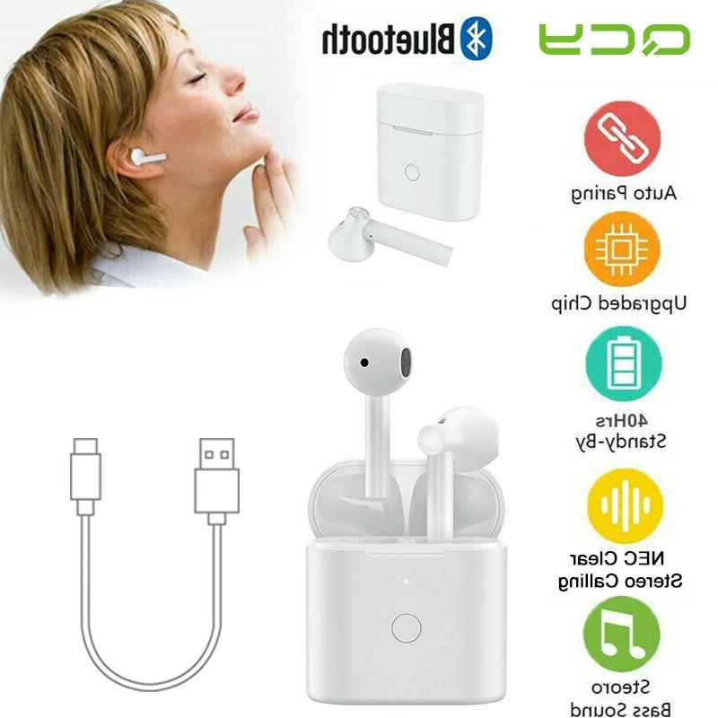 ture wireless bluetooth 5 0 earphones headphones