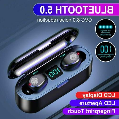 tws mini earbuds wireless bluetooth 5 0