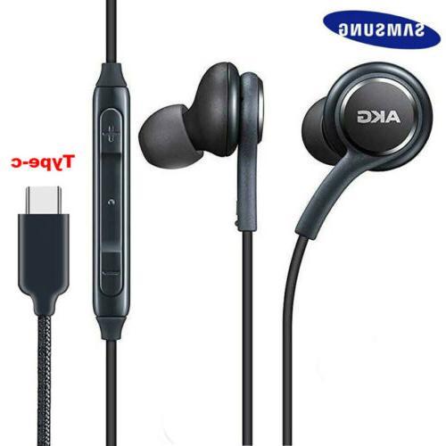 type c headphones earphones wired headset