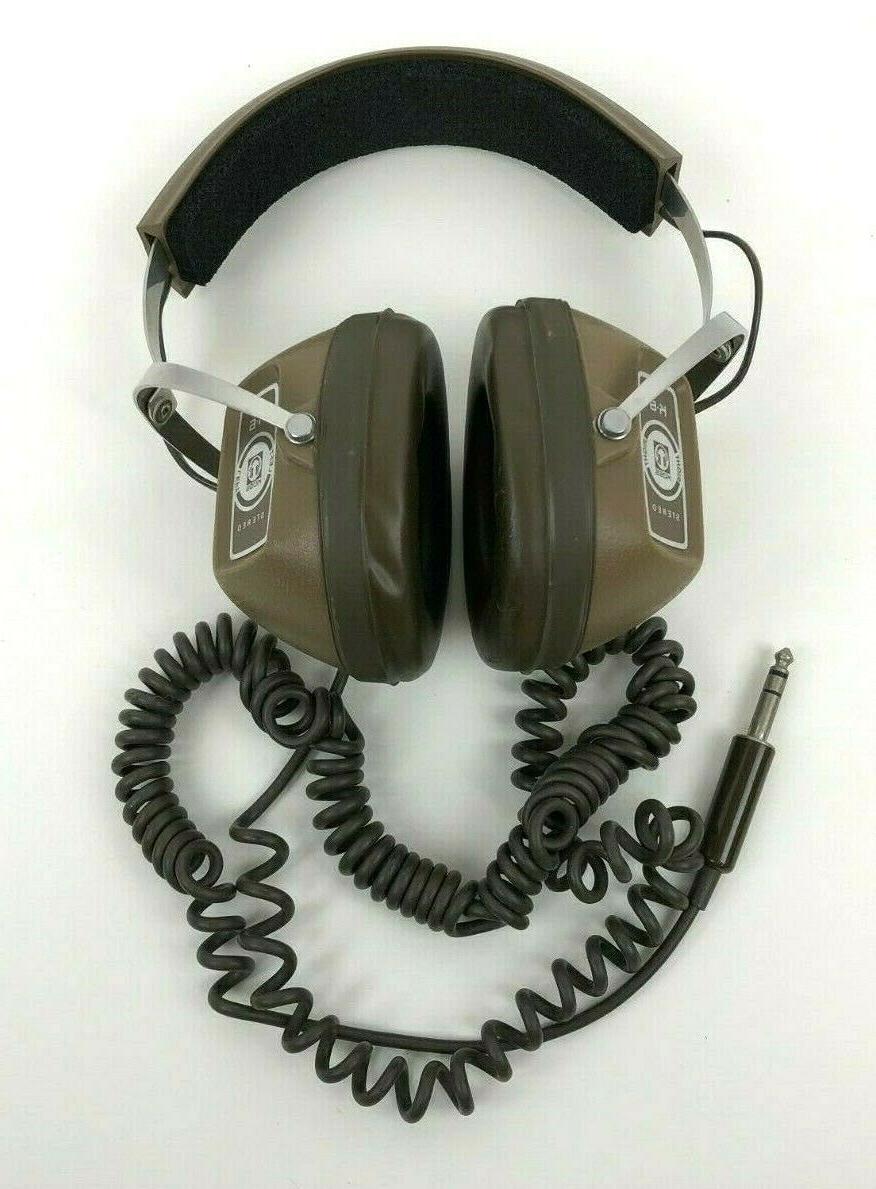 vintage headphones k 6 brown 1 4