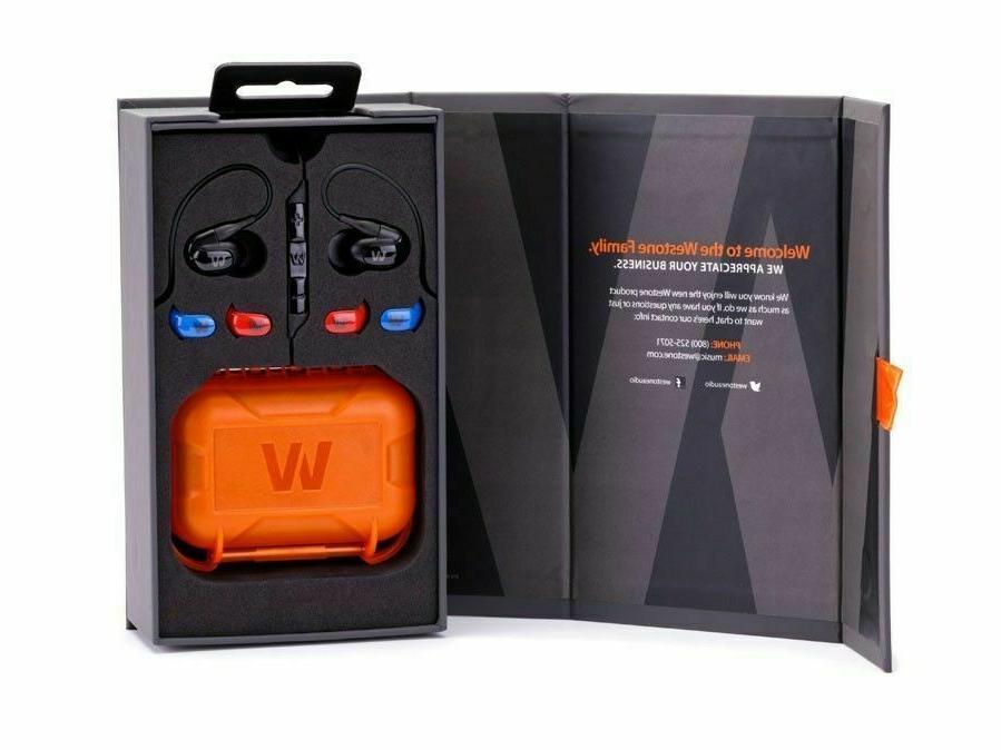 Westone W40 Quad-Driver Noise Isolating Earphones Year Warranty |