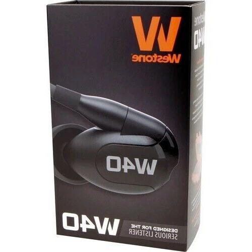 w40 quad driver noise isolating earphones l