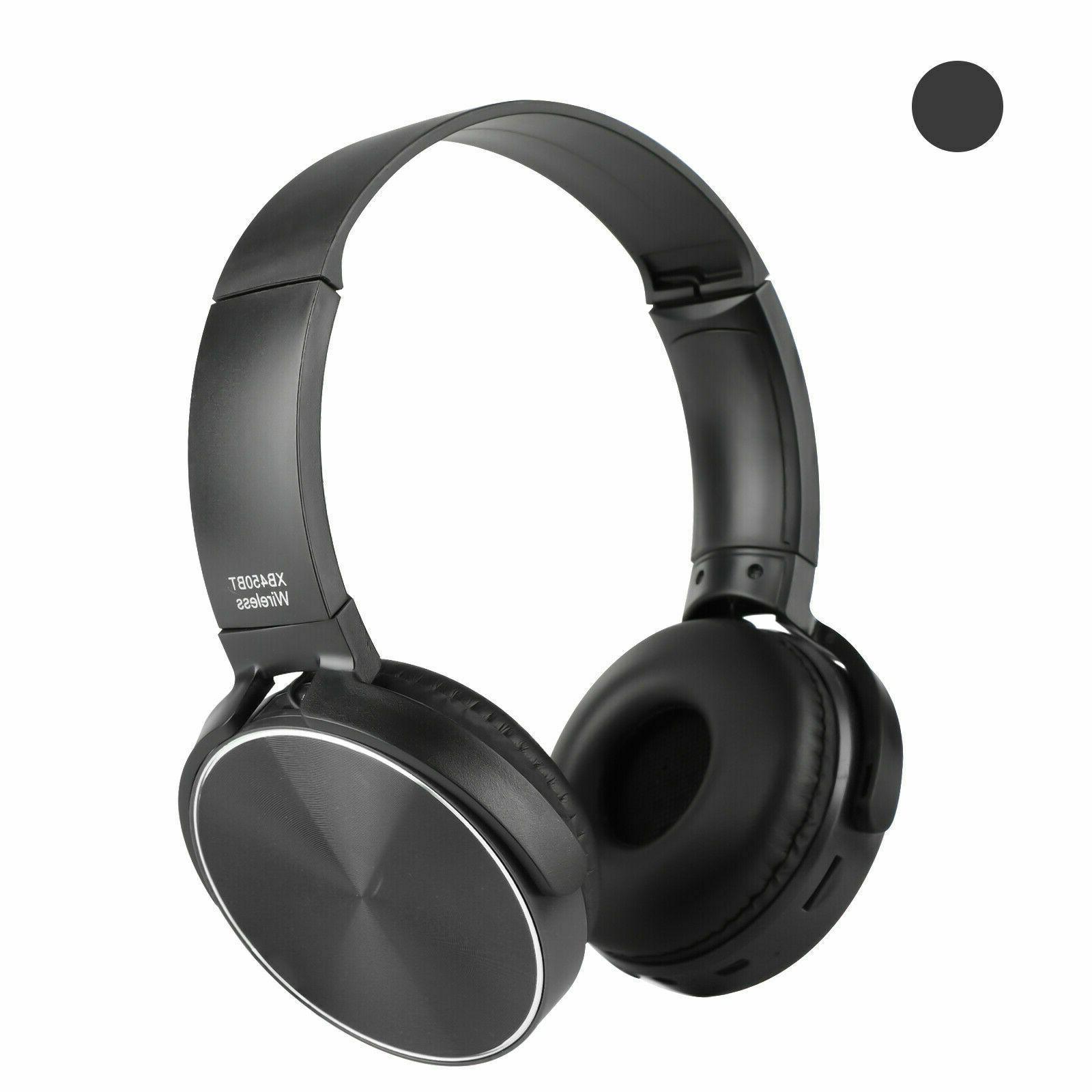 Super Headphones Foldable Stereo Headsets