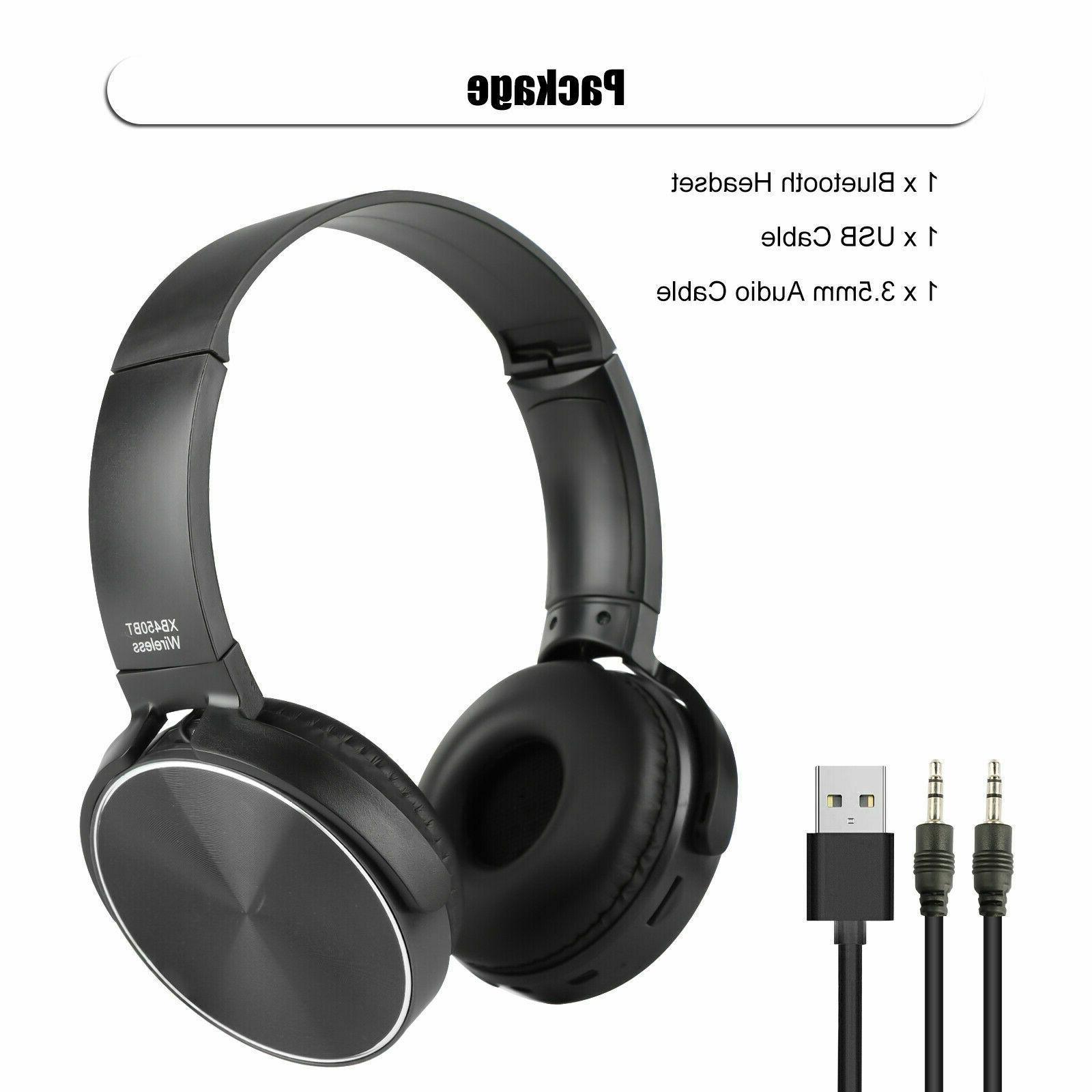Super Bass Headphones Headsets