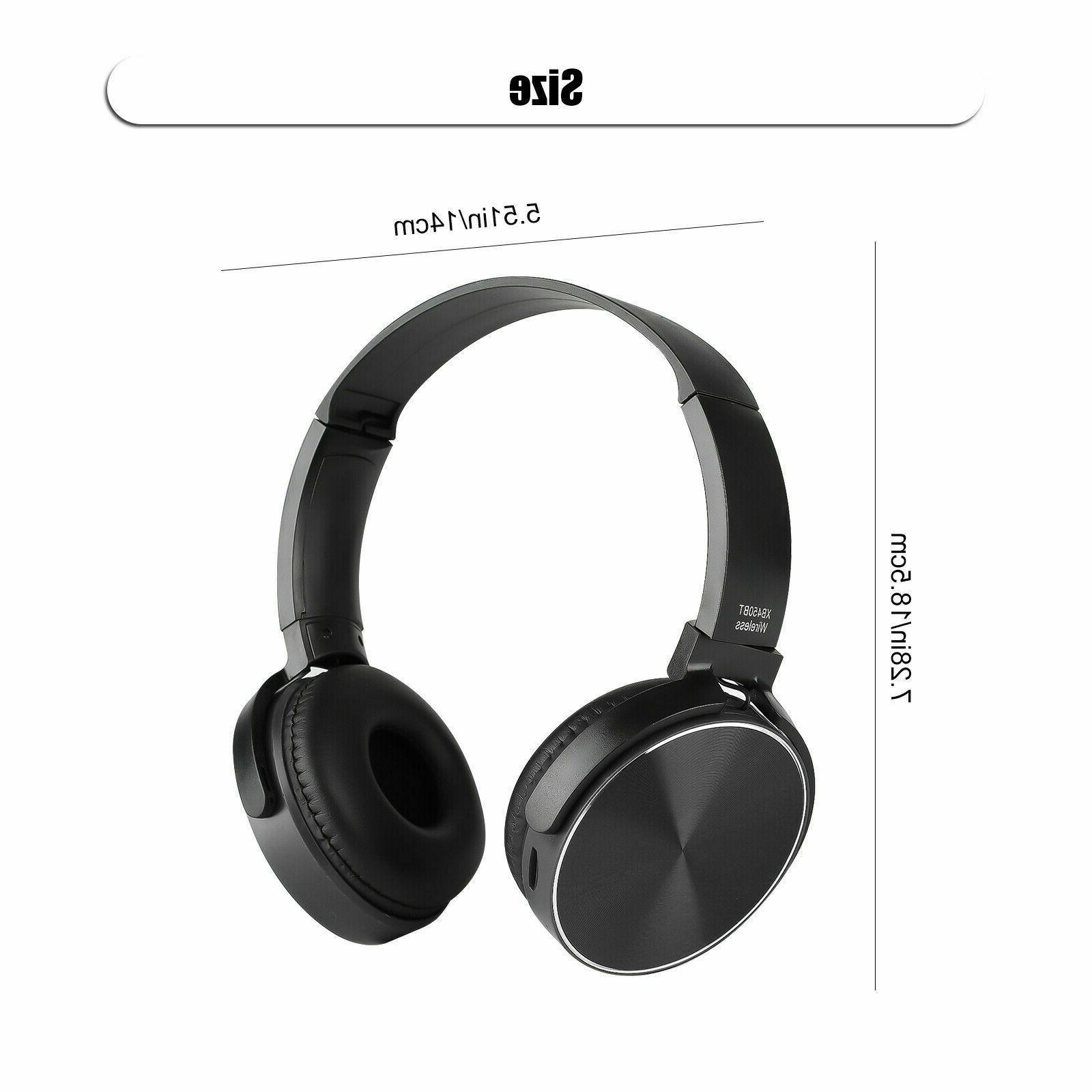 Super Headphones Stereo Headsets Mic