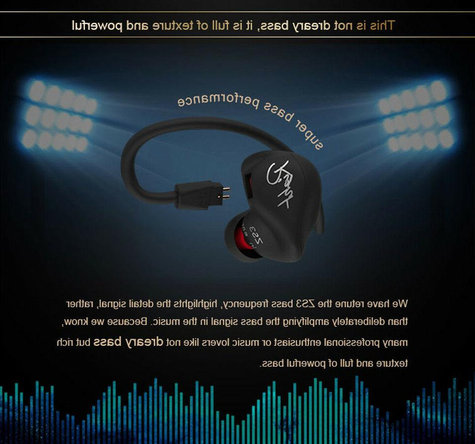 Original ZS3 Headphone Super Hook Earphone Stereo Headset CZ53