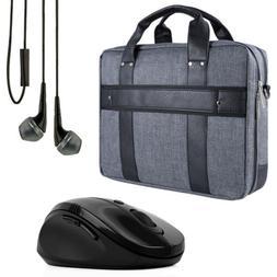 """VanGoddy Laptop Briefcase Shoulder Bag for 17.3"""" Asus ROG/HP"""