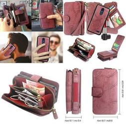 LG Stylo 4 Case Q Stylus Harryshell Luxury Detachable Magnet