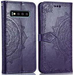 Cmeka Mandala Wallet Case for Samsung Galaxy S10 2019 Slim 3