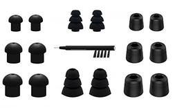 NICKSTON N-2 Assorted Ear Tips Set for In Ear Earphones with