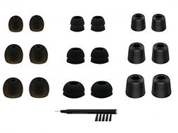 NICKSTON N-4 Assorted Replacement Set Ear Tips Adapters Gels