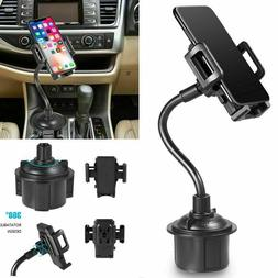 HOT Adjustable Cup Holder Car Mount for iPhone Cell Phone Un