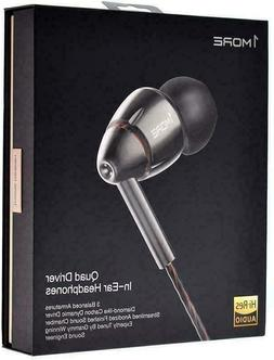 new sealed quad driver in ear earphones