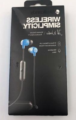 NEW Skullcandy Jib Wireless Simplicity Earbuds, remote, Mic,