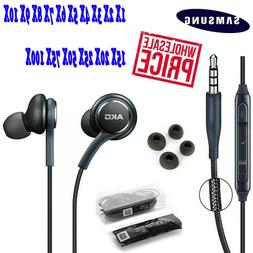 FOR OEM Samsung S9 S8 S10 + Note 8 AKG Earphones Headphones