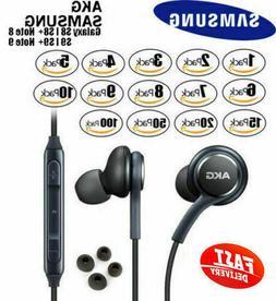 Orginal Samsung S9 S8+ Note8 OEM AKG Earphones Headphones He