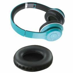 Oval Earphone Earpads Ear Cushion Headset Earmuffs Leather H