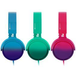 RockPapa Over Ear Foldable Headphones Earphones for Mp3/4 iP