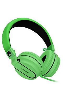 RockPapa OverEar Kids Childs Adults Foldable Headphones Head
