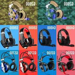 KOTION EACH PS4 Gaming Headset Xbox One Headphone 3.5mm PC S