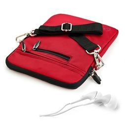 VanGoddy Red Tablet Shoulder Bag Pouch Sleeve Case Cover for