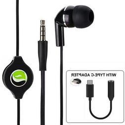 RETRACTABLE HANDS-FREE MONO HEADSET WITH MIC EARPHONE S0C fo