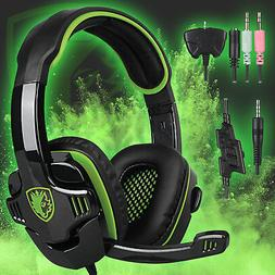 Sades sa-901 Stereo 7.1 Surround Headsets headphones Headban