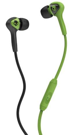 Skullcandy The Smokin' Buds Earbuds with Mic in Lurker Green
