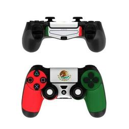 Sony PS4 Controller Skin Kit - Mexican Flag by Flags - Decal