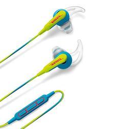 Bose SoundSport in-ear headphones - Apple devices, Neon Blue