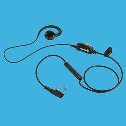 Swivel Style IN-Ear Phone with for Kenwood TK-2400VP TK-3400