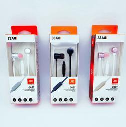 JBL T290 Earphones In-Ear Headphones with Inline Mic & Remot
