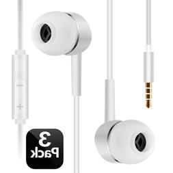 ULTRA-Short 3.3FT Samsung Earphones/Earbuds/Headphones with