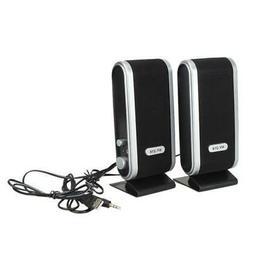Hot USB Power 3.5mm Earphone Jack Speakers For Computer Lapt