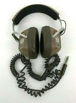 """VINTAGE KOSS HEADPHONES K-6 Brown 1/4"""" Jack Audio Earphone"""