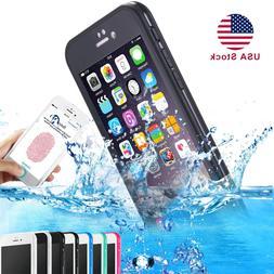 Waterproof Shockproof Hybrid TPU Phone Case Full Cover Fr iP