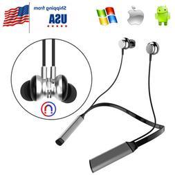 Wireless Bluetooth Stereo Headphone Sport Neckband Earphone