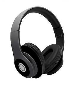 WIRELESS HEADPHONES OVER EAR EARPHONES HEADSET MIC FOLDABLE