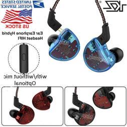 KZ ZS10 HiFi Stereo Hybrid In-Ear Sport Earphone Earbuds Mon